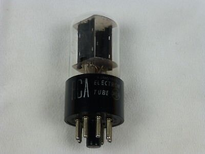 RCA 6SL7GT Electron Tube Ham Radio Audio Amplifier TV Tested Good See Test Pic