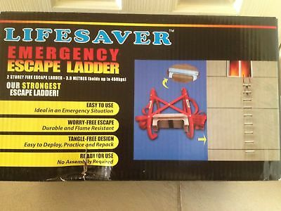 NEW  Rope Ladder Emergency Work Safety Response Fire Rescue Rock Climbing Escape