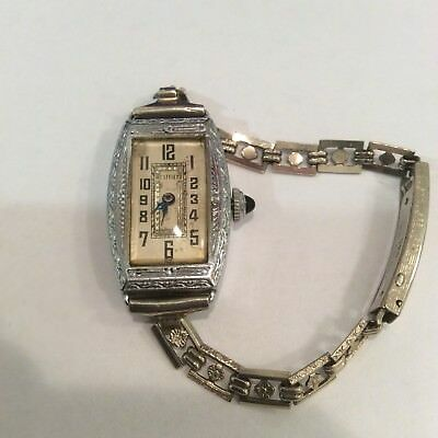 Vintage 1920's - 1930's Ladies WESTFIELD Art Deco Wristwatch
