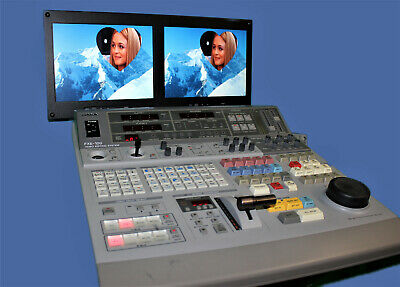 Sony FXE 100 Video Mixer Editing System Console Controller with Manual and Case