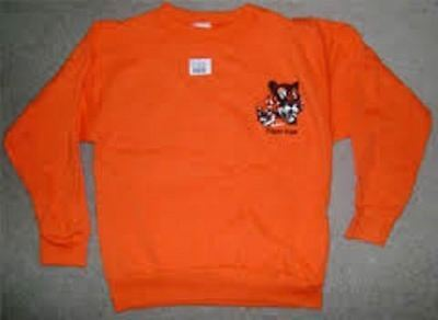 Tiger Cub Scout Official Sweatshirt Sweater Adult Size Medium Large Made In Usa