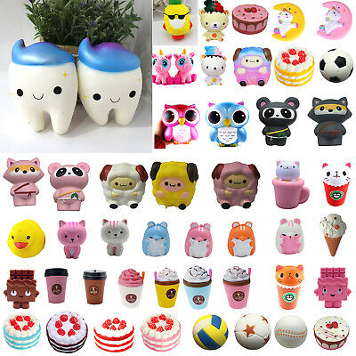 Jumbo Slow Rising Squishies Scented Squishy Squeeze Stress Reliever Kids Toys US