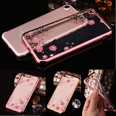 Soft Silicone TPU Protective Transparent Case Cover For iPhone 6 6S 7 7S 8 Plus