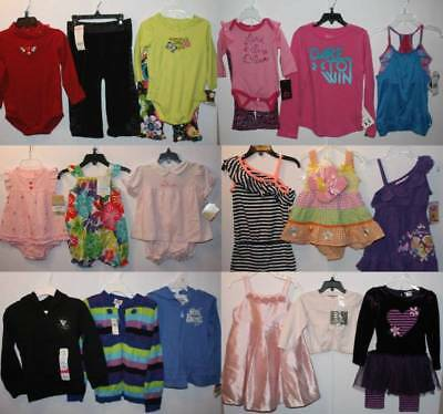$500 RV NWT Kids Wholesale Resale Infant Girl's Lot Toddler NB-4/6 yrs F/S