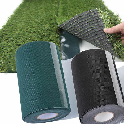 10mx15cm Artificial Grass Green Join Fixing Turf Tape Self Adhesive Lawn Carpet