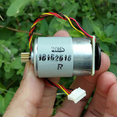 DC 12V 24V 10800RPM RS-385 Printer Motor Speed Feedback Encoder Disk 14T Gear