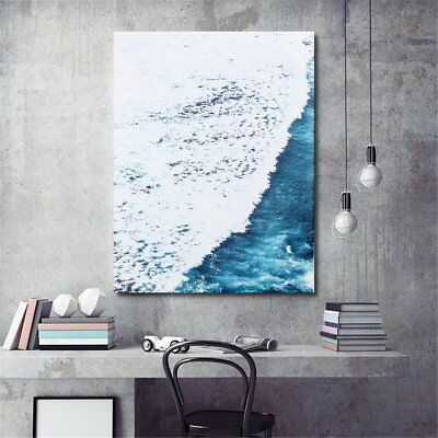 50x40cm Sea Wave Seascape Beach Canvas Print Art Oil Painting Wall Home Decor