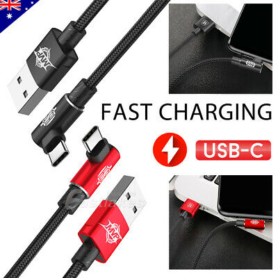 ROCK BASEUS USB TYPE-C FAST CHARGE CABLE FOR SMASUNG S10 S9 Plus S8 S10e Note 9