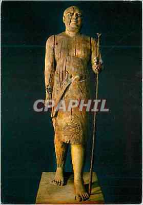 CPM The Egyptian Museum Sykomore Wood Statue of Ka Apor so called Shelkh el Bele