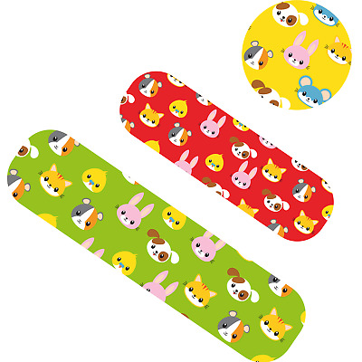 75pc Padded Proplast Children's Kids Wash Proof Plaster Set Band Aids Sterile