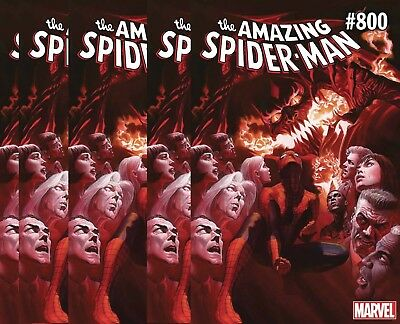 (2018) 5 copies AMAZING SPIDERMAN #800 Regular Cover! FREE SHIPPING!