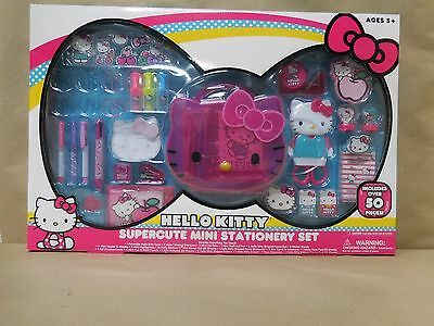 NEW Hello Kitty Super Cute Mini Stationery Set