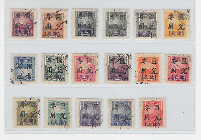 *china-Parcelpost For Use As Remittance Stamps-Only 4Copies Known-Rrrr-Ex Fuerst