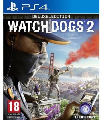 Watch Dogs 2 -  Deluxe Edition Ps4 Italiano Videogioco Play Station 4 Gioco
