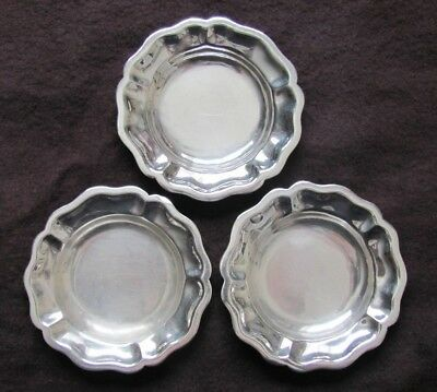 SANBORNS Mexico (3) Sterling Silver Trinket Candy Dishes Vintage