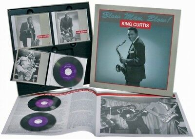 BEAR FAMILY 3-CDs BCD-15670-CI: KING CURTIS - Blow Man, Blow! - 1993 GERMANY
