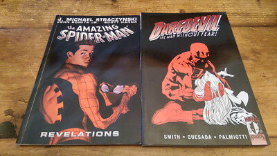 Spider-Man: Revelations - & - Daredevil: Man Without Fear (Very Good Condition)
