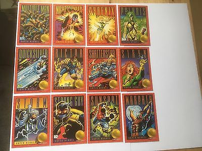 Skybox Marvel X Men 19 20 21 22 25 26 29 30 31 32 33 34 Storm 1993 Trading Cards