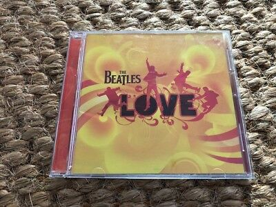 CD - The Beatles  -  Love  Parlophone  GREAT CONDITION