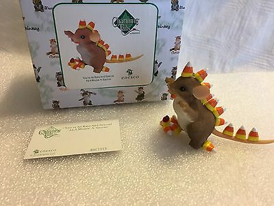 """Charming Tails """"You're As Rare And Special As A Mouse A Saurus"""" DEAN GRIFF NIB"""