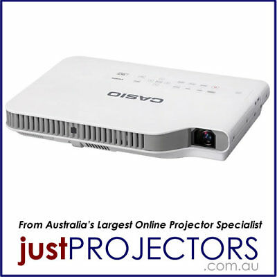Casio XJ-A257 portable 3000 lumen LED Laser Projector. 5 Year Aussie Wrnty.