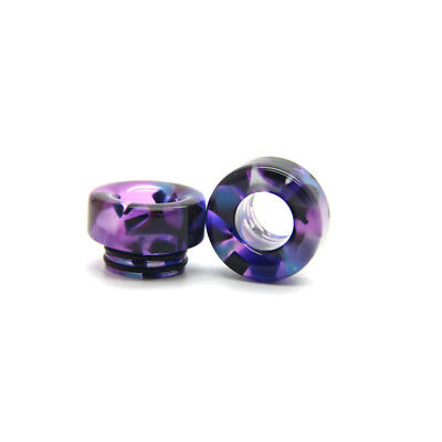 Purple Galaxy 810 Resin Drip Tip TFV8 TFV12 Kennedy Tanks Mouthpiece Driptips