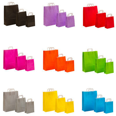 papier-tragetaschen Paper Bags Bags Paper Shopping Bag Colour choice