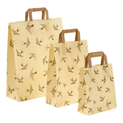 papier-tragetaschen Paper Bags Bags Paper Shopping Bag Swallows