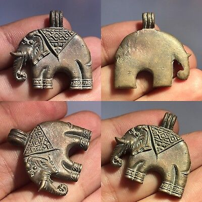 Antique wonderful Bronze elephant lovely pendant