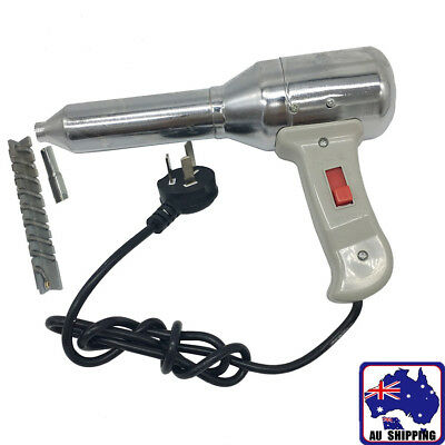 Plastic Welding Hot Air Gun Torch Welder Pistol w/ Nozzle TGG000055