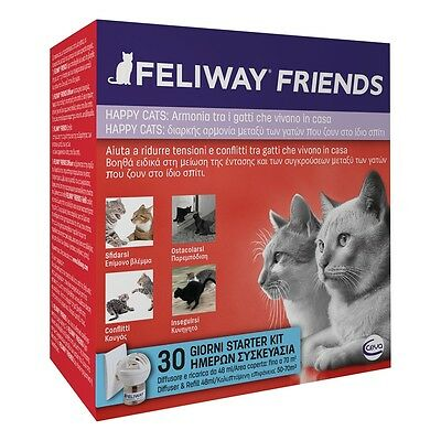 Feliway Friends Diffusore + Ricarica Ml.48