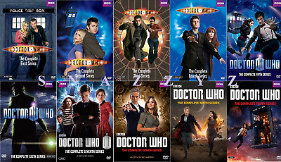 New & Sealed! TV Dr Who Complete Seasons Series 1 - 10 DVD