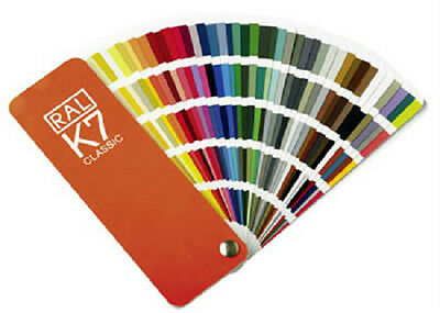 Original RAL CLASSIC Color Card Swatch/Fan Deck 213 Colour Tones Latest Version