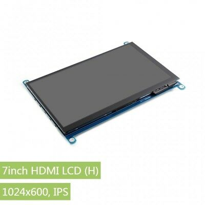 7inch HDMI LCD (H) 1024x600 IPS Capacitive Touch Screen Suport HDMI Audio Output