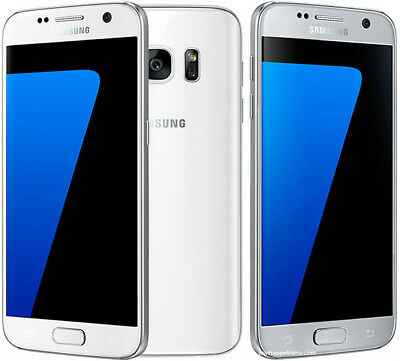 Unlocked Samsung Galaxy S7 G930T (T-Mobile) Smartphone Blue/White/Gold