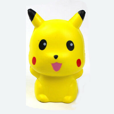 10cm Pokemon Pikachu Squishy Soft Scented Charms Squeeze Slow Rising Relief toy