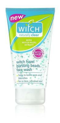 **  Witch Naturally Clear Witch Hazel Bursting Beads Face Wash 150Ml New **