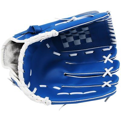 "11.5"" Softball Baseball Handschuh Outdoor Mannschaftssport Linke Hand Blau A9Q4"