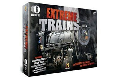 DVD TRAINS Extreme trains / Golden Age / Lost Railways / Trains Remembered - New