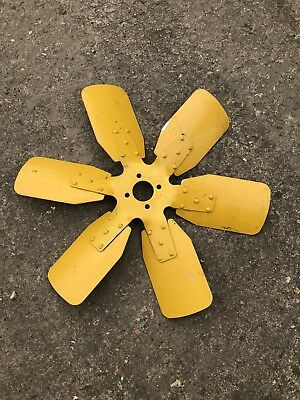 PERKINS  4236 and 1000 SERIES ENGINE RADIATOR FAN 2485C819 6 BLADES INC VAT