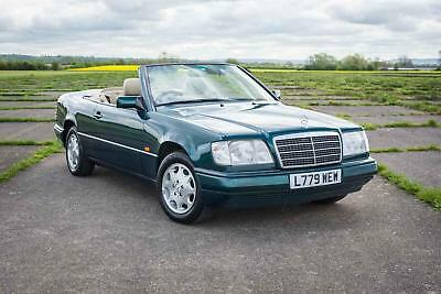 1994 Mercedes-Benz W124 E220 Cabriolet - 88K Miles from new, FSH, Great Spec