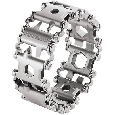 Leatherman Tread Metric Mens EDC Multi-Tool Screwdriver Bracelet 29 Tools Steel