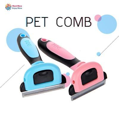 Brush Grooming Pet Trimmer Tools Cat Dog Hair Comb Shedding Slicker Cleaning