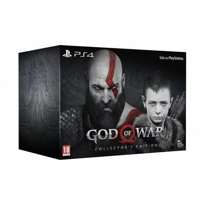 God Of War - Collector's Edition Ps4 Videogioco Italiano Playstation 4 Sigillato