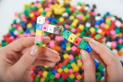 Interlocking Counting Cubes New 1 cm cubes Various pack sizes available