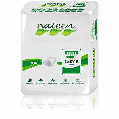 Night Tendercare-Nateen Shaped Incontinence Pads (Green)