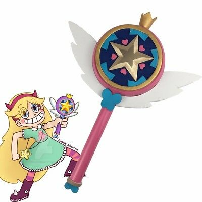 Star vs the Forces of Evil Princess Magic Stick Wand Staves Cosplay butterfly