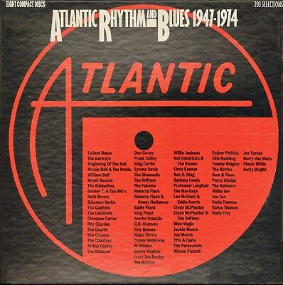 ATLANTIC 8-CDs 7-82305-2: Atlantic Rhythm & Blues 1947-1974, Various - 1991 USA