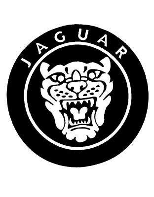 Jaguar 3d Domed Badge Logo Emblem Sticker Graphic Decal Car Racing