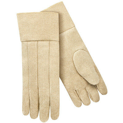 """18"""" Vermiculite Fiberglass Forge Thermal Protective Gloves Wool Insulated"""